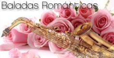 Baladas románticas con saxo. Boleros instrumentales.