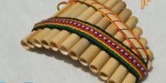 Música instrumental de amor con flauta de pan andina.