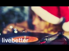 Jazz navideño. Música de navidad alegre en inglés.
