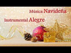 Música navideña instrumental relajante y alegre.