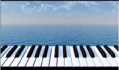 Música instrumental de piano relajante para estudiar.