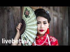 Música china tradicional instrumental alegre, música folklorica asiática.