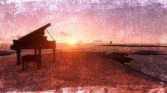 Piano con olas del mar, música instrumental para despertar los sentidos.