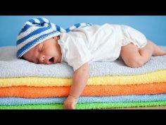 Música relajante para ayudar a los bebés a conciliar el sueño.